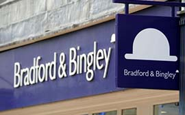 Lender Bradford & Bingley mortgage sales raises £11.8bn.