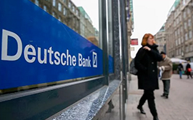 Deutsche Bank hit with £500m money laundering fines