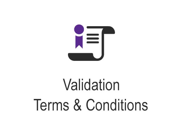 Mortgage Securitisation Claim Validation Terms